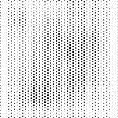 Polotónování, tečkované pozadí abstraktní