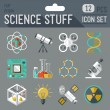 Постер, плакат: Science icon set