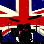 Постер, плакат: UK Rock Band