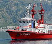 Loď hasičů