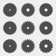 Постер, плакат: Set of circular saw blades