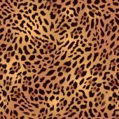 Safari leopard fur seamless print
