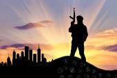 Silueta teroristické