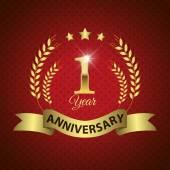 1-Jahr-Jubiläum-Dichtung