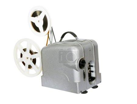 Постер, плакат: Old film projector for movies, холст на подрамнике