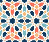 Barevný vzor tradiční arabské