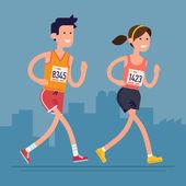 Silniční závod maratonce