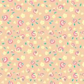 Textile flowers pattern