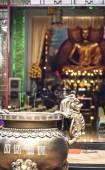 Ho Chi Minh, Viet Nam - 21 ledna 2014: Buddhistická pagoda v Ho