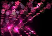 Abstraktní prvky růžové