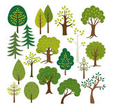 Different vector Trees clip art