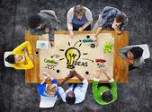 Lidé plánování nápady
