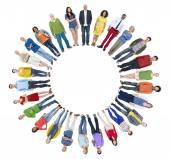 A Copyspace kör emberek csoportja