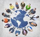 Muliethnic lidí po celém světě