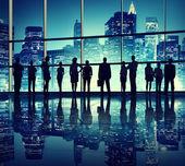 Podnikatelé v kancelářská budova