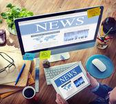 Digitální komunikace, hledání sdílení zpravodajství