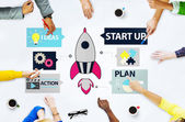 Startup Innovation Planning Ideas  Concept