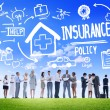 ������, ������: Insurance Policy Discussion Concept