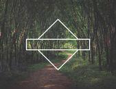 Frame,  Blank Symbol Concept.