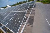 Solárních článků na střeše parkoviště