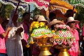 Přehlídka Loy Kratong Festival v Thajsku