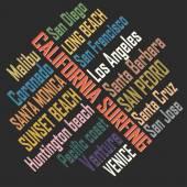 Surfing t-shirt graphic design California surfers wear typography emblem Creative design Vector illustration