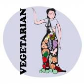 Vegetariánské védské Girl