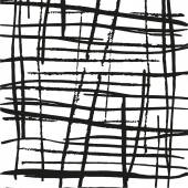 Abstraktní linie textury. chaotický černé a bílé barvy