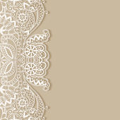 Abstract background wedding invitation or greeting card design with lace pattern beautiful luxury postcard ornate page cover ornamental vector illustration