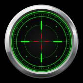 Mesterlövész hatálya zöld és piros kereszt szőrszálak