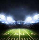 US-amerikanischer American-Football-Stadion