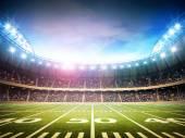 Licht der amerikanischen Stadion