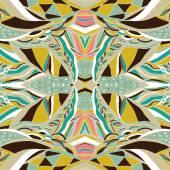Hagyományos díszítési paisley tarka selyemkendő. Kézzel rajzolt háttérbe művészi mintával. Élénk színek