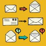 Постер, плакат: Mail icons