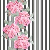 Beautiful romantic design for fabric print covers endless texture backdrop wallpaper