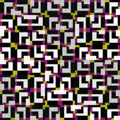 Plynulé barevné vzor s geometrickými vzory