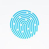 ID aplikace ikona. Otisk vektorové ilustrace