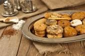 Turkish homemade sweet and savory cookies - tatli tuzlu kurabiye