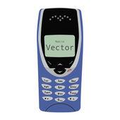 Old Mobile Phone Vector illustration