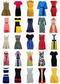 Sammlung von stilvollen Frauen Kleider