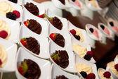 Pěna z ovoce a čokoláda