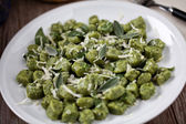 Potato Gnocchi with Sage Butter