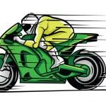 Постер, плакат: Moto Race