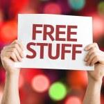 Постер, плакат: Free Stuff card