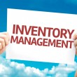 Постер, плакат: Inventory Management card
