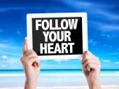 Text-Folge deinem Herzen