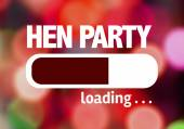 Bar Loading with the text: Hen Party