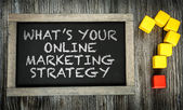 Co je Online marketingové strategie? na tabuli