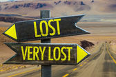 Lost - Very Lost signpost
