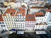 Alfama Colored Houses